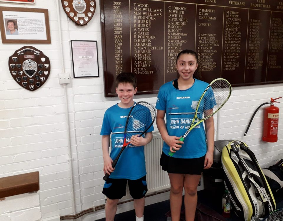 Beverley Recreation Club English Junior Championships