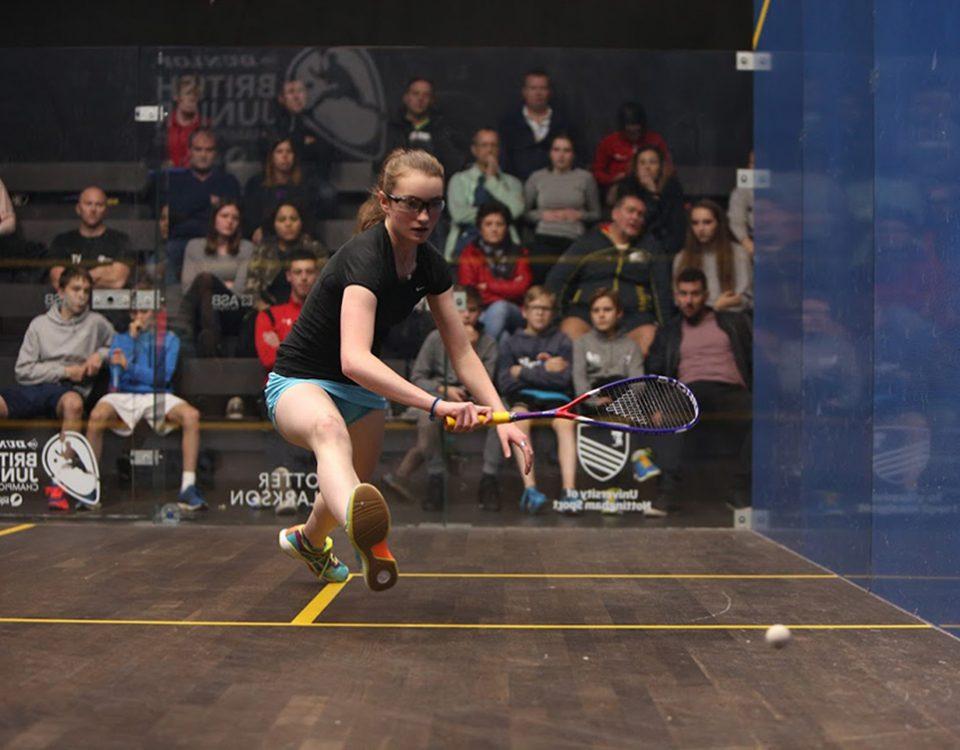 Lydia Robinson Beverley Squash Club BJC 2018 Nottingham
