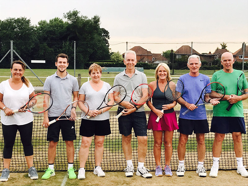 Beverley Tennis Club Team